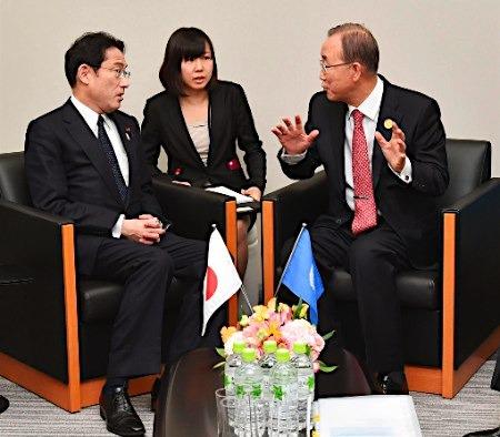 日本将就核裁军等议题与联合国展开合作