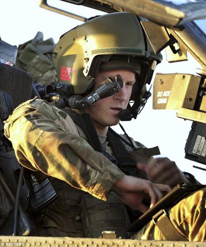 英国哈里王子将赴澳服役参加一系列训练活动