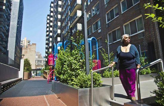 纽约曼哈顿上西城获评美国最优德w88会员登录社区之一(图)