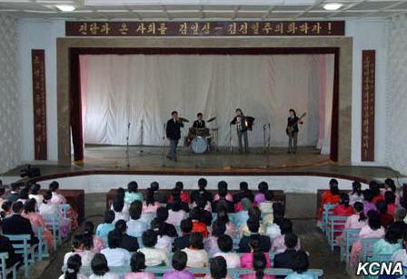 朝鲜举行招待会和文艺演出庆祝建军83周年(图)