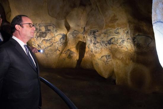 法国展出数万年前先洞穴绘画复制品(贪图)