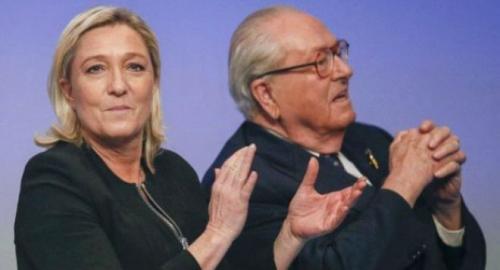 多次发表极端言论法国极右政党创始人遭停职(图)