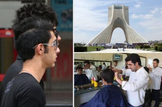 伊朗规范美发行业禁止留同性恋倾向发型(图)
