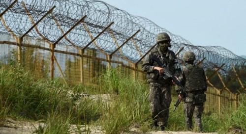 韩国防部:朝鲜非军事区埋设地雷致韩军人重伤