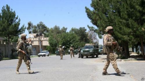 美媒:阿富汗政府军重新夺回南部重要地区控制权