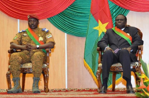 Burkina Faso cable force change leaders say the president is safe and will soon was released