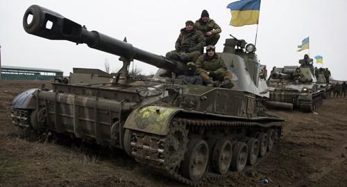 卢甘斯克称接触线7公里处出现乌政府军军械车队