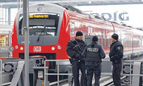 跨年夜IS阴谋袭击德国慕尼黑 两火车站大疏散