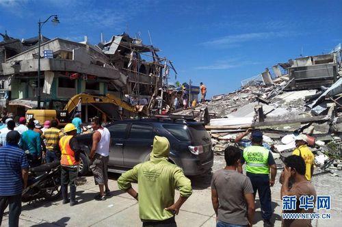 厄瓜多尔犯人地震越狱有人见震后惨状主动返回