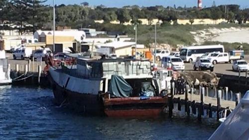 一船只在澳大利亚西海岸被拦截 8名中国船员被拘留