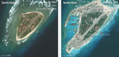 美国国务院罕见点名越南要求其停止南海岛礁建设