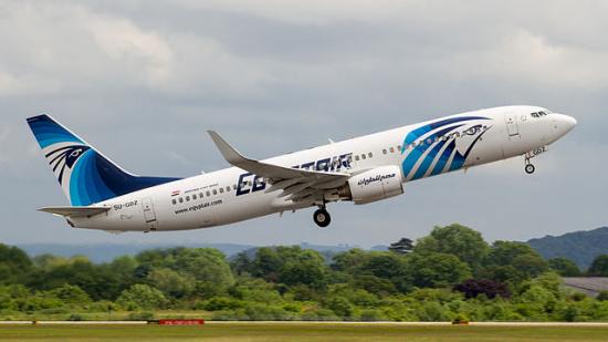 埃及航空公司一架载有58名乘客飞机在雷达上消失