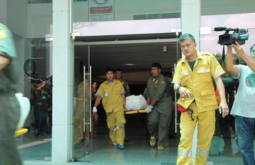 曼谷一大学发生枪击案讲师枪杀2名同事后逃逸