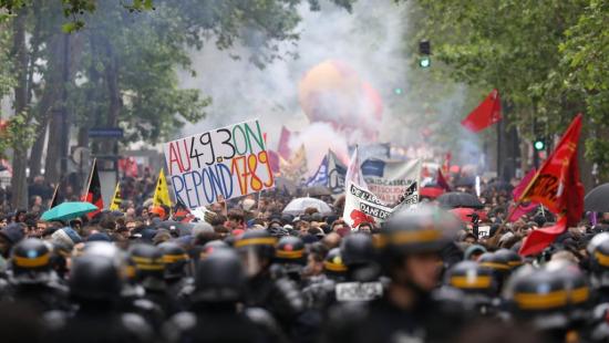 法国劳工改革示威抗议持续:工会宣布新游行日期