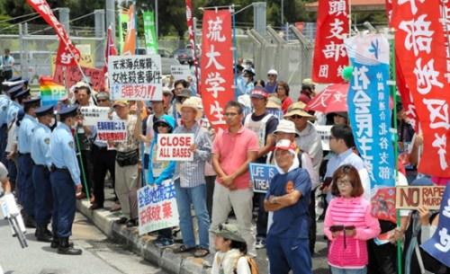"""冲绳知事欲会奥巴马谈""""弃尸案""""日本政府难允"""