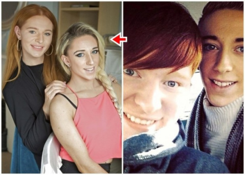 """爱尔兰兄弟同为跨性别人士展示真我变""""姐妹""""(图)"""