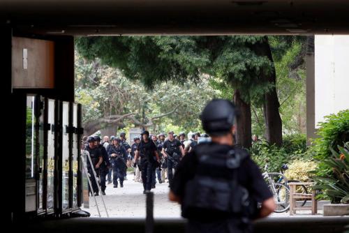 美加州大学洛杉矶分校枪击案两人死亡