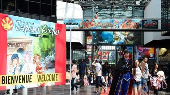 日本博览会在巴黎举行各种酷炫元素齐登场(图)
