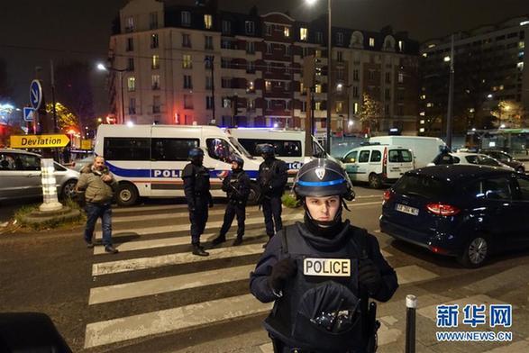 一名持枪歹徒闯进巴黎一家旅行社劫持7名人质