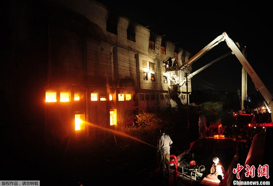 4年前巴基斯坦制衣厂火灾疑为纵火一嫌犯被捕