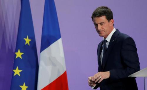 法国总理瓦尔斯将宣布参加2017年总统选举