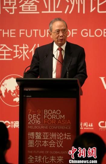 曾培炎:中澳都在推进全球化进程中扮演积极角色