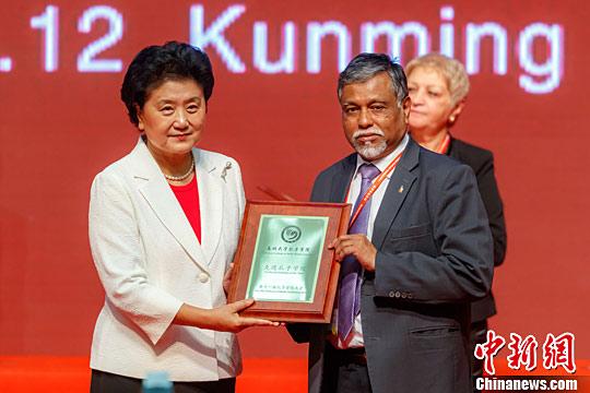泰国合艾国光中学孔子课堂获评全球先进孔子课堂