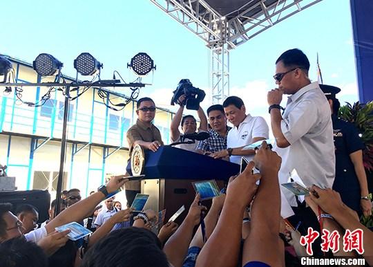 民调称逾八成菲律宾民众信任总统