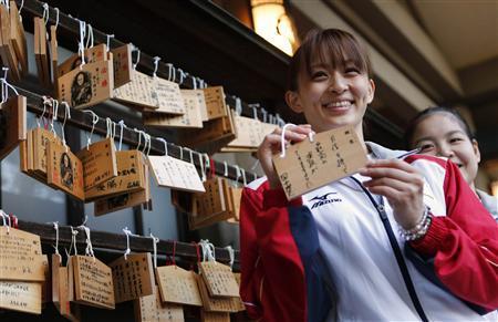 """日本""""最美选手""""体操健将田中理惠做新娘:宣布在元旦登记结婚(资料及照片)"""