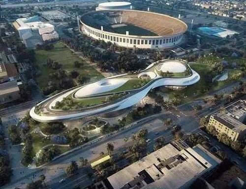 《星战》博物馆将落户洛杉矶建筑外形似飞船