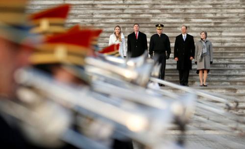 美国举行总统就职仪式彩排确认仪式步骤和时间