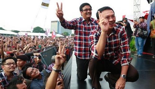 印尼首都雅加达特区省长选举首轮无人胜出将进入第二轮角逐