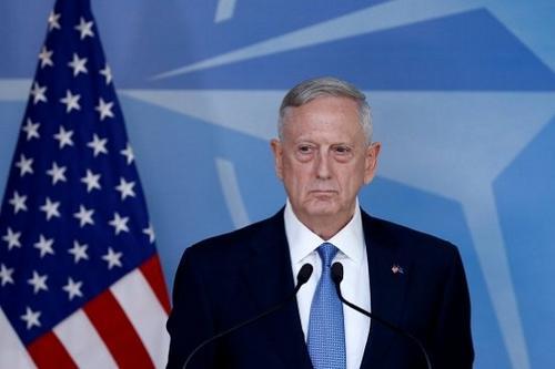 美防长马蒂斯:美国人去伊拉克不是为了夺取石油