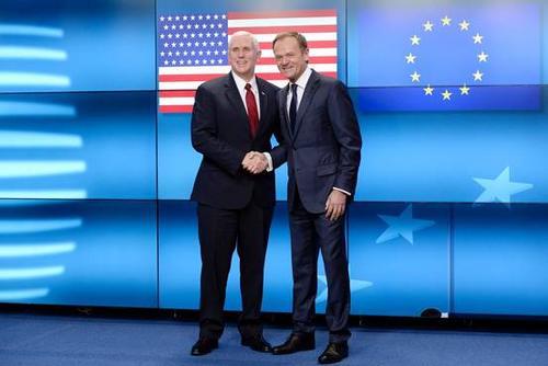 美国示好?副总统:美国对欧盟的承诺坚定而持久