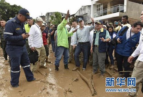 哥伦比亚泥石流致154人遇难约200人受伤