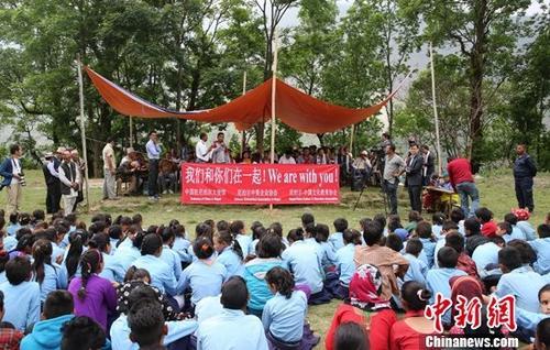 大地震两周年尼泊尔村庄感受来自中国的温暖