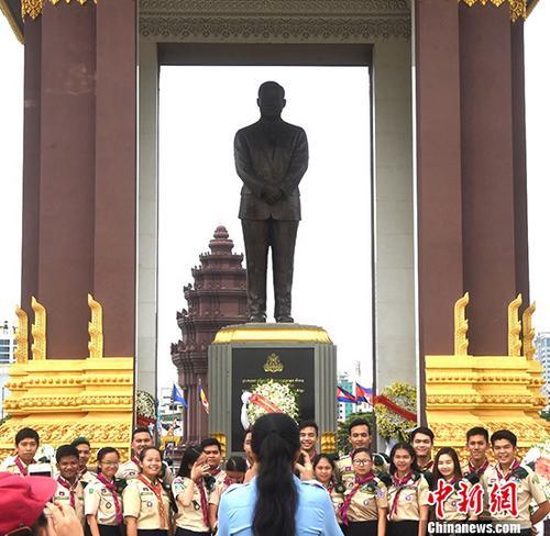 柬埔寨纪念西哈努克逝世五周年