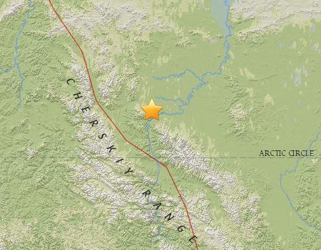 俄罗斯东部地区发生4.6级地震震源深度14.1公里