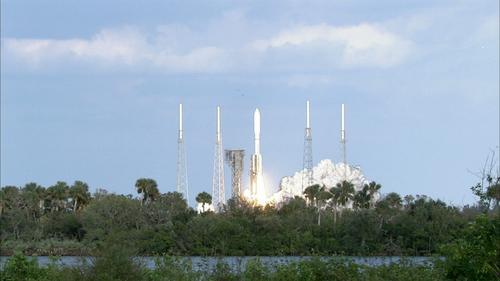 "NASA:美""宇宙神""-5运载火箭搭载气象卫星升空"