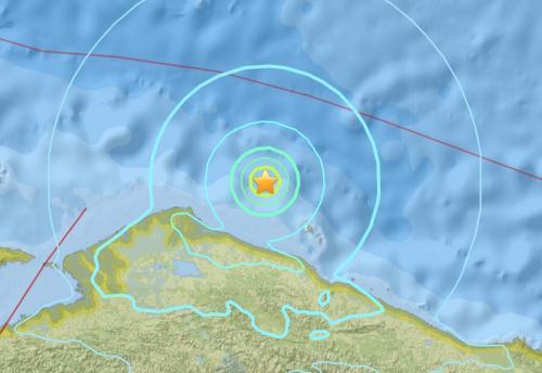 印尼东北部海域发生5.6级地震震源深度10公里