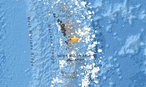 输马来亚纳群岛海域4.6级地震震源深度115.9公里