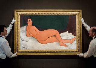 莫迪里安尼画作超1.5亿美元拍出 创史上第四高价