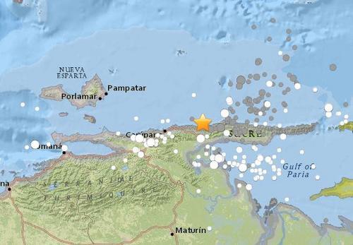 委内瑞拉沿岸近海发生7.3级地震加勒比海发海啸警报