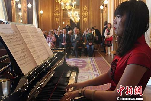 中国驻法使馆在2018年欧洲遗产日对公众开放