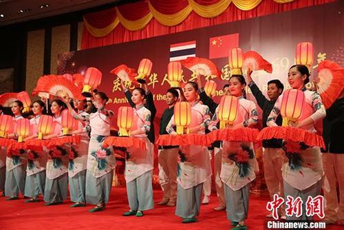 中国驻泰国大使馆举行国庆69周年招待会