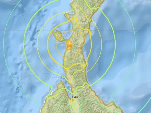 印尼苏拉威西岛发生7.5级地震发布海啸预警