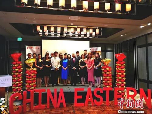 上海浦东往返马尼拉航线 东方航空市场占有率已达28%