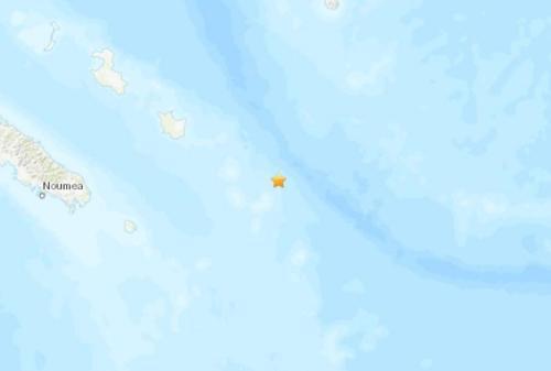 南太平洋洛亚蒂群岛附近发生7.6级地震
