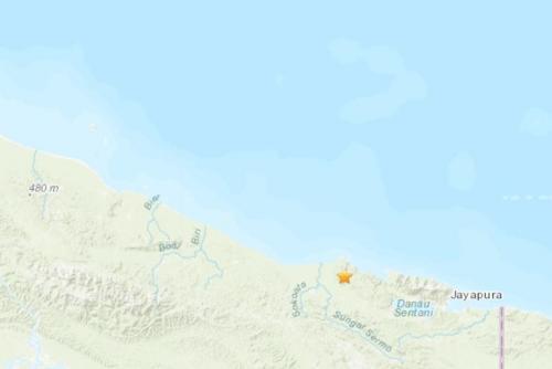 印尼东部地区发生5.2级地震 震源深度26.7公里
