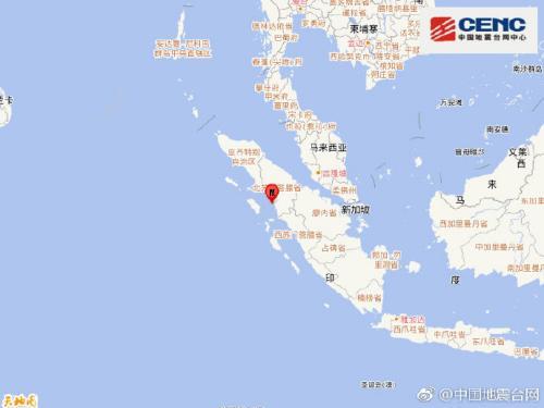 图片来源:中国地震台网中心官方微博